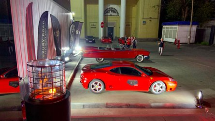 luxury road moscow supercars rally