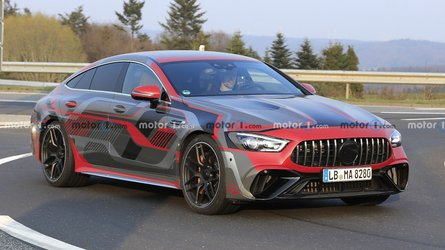 amg gt73 spied